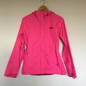 North Face Pink Venture Rain Jacket Size Small